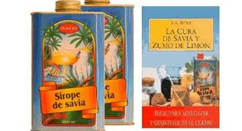 CURA DEL SIROPE DE SAVIA Y EL ZUMO DE LIMÓN