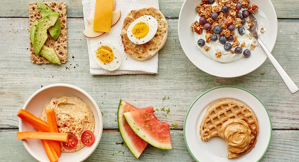 cinco comidas al dia para bajar de peso
