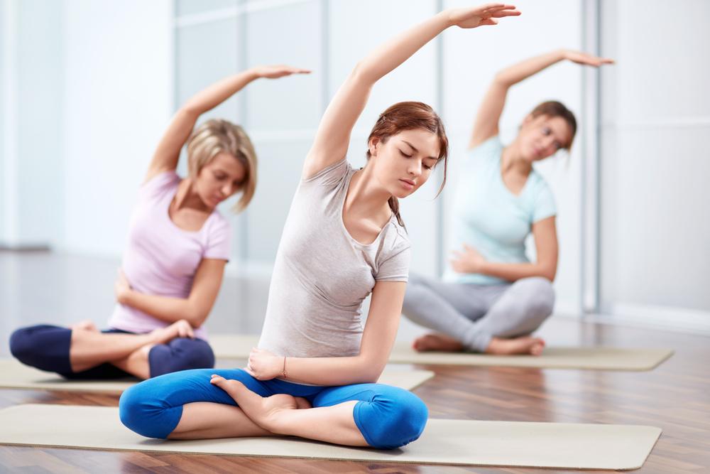 Posturas de yoga para bajar de peso